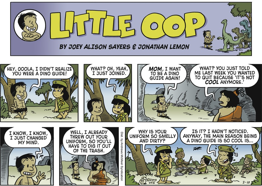 Alley Oop by Jonathan Lemon and Joey Alison Sayers for March 10, 2019