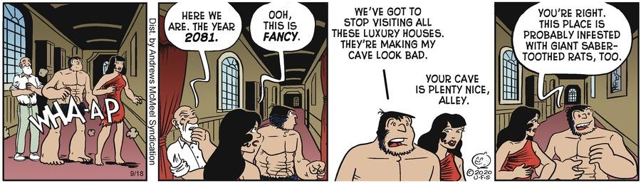 Alley Oop Comic Strip for September 18, 2020
