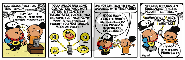 Pirate Mike on Tuesday February 12, 2019 Comic Strip