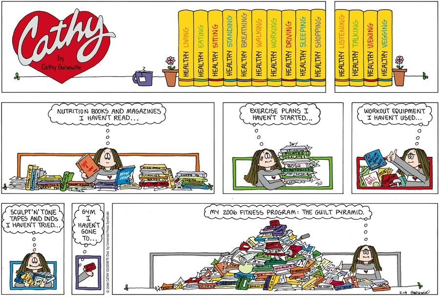 Cathy for Feb 19, 2006 Comic Strip