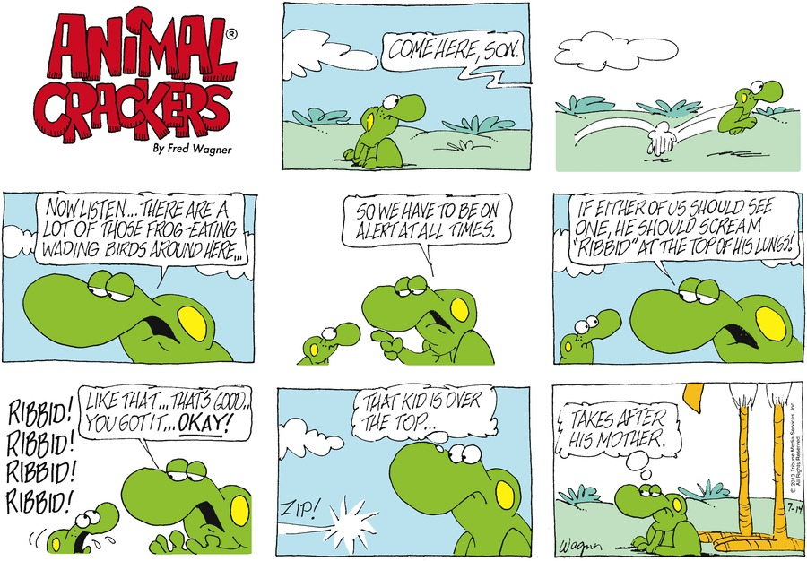 Animal Crackers Comic Strip for July 14, 2013
