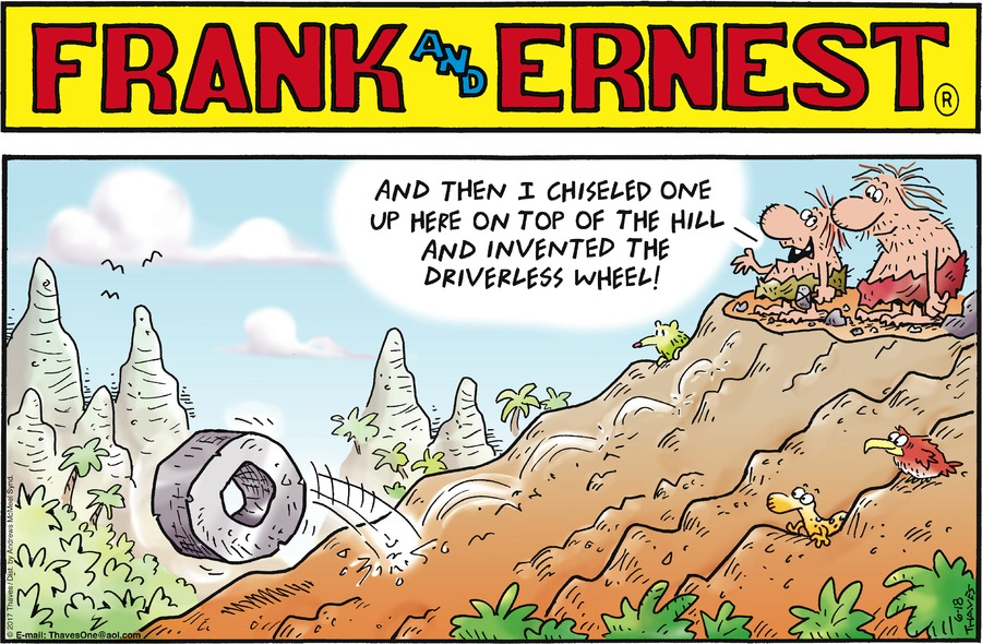 Frank and Ernest Comic Strip for June 18, 2017