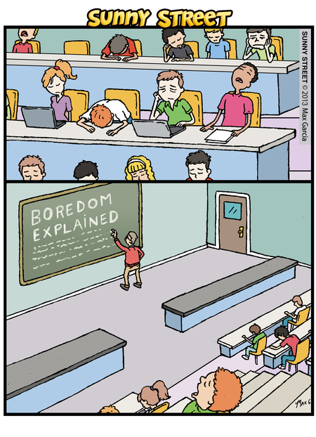 Sunny Street Comic Strip for August 28, 2013