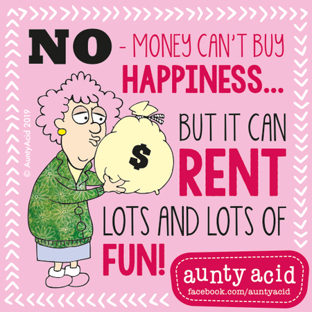 Aunty Acid by Ged Backland for March 12, 2019