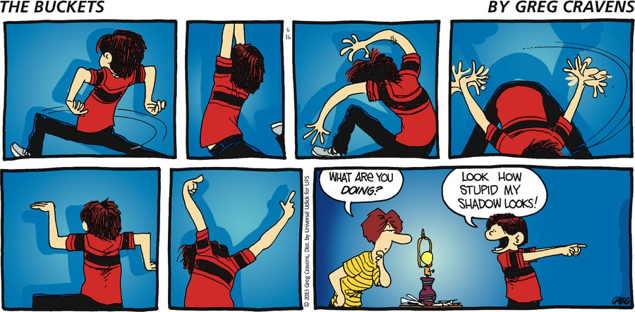 The Buckets for Jun 16, 2013 Comic Strip