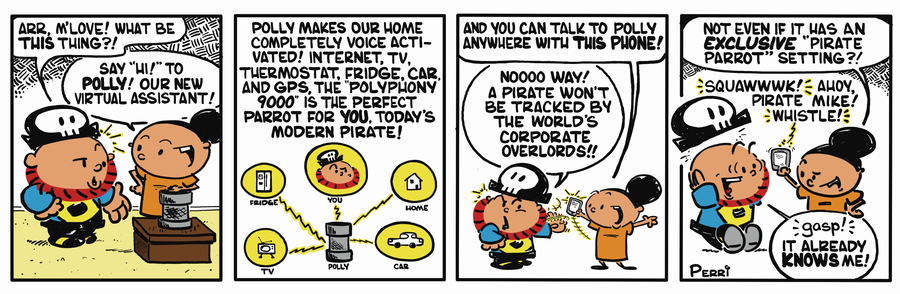 Pirate Mike Comic Strip for February 12, 2019