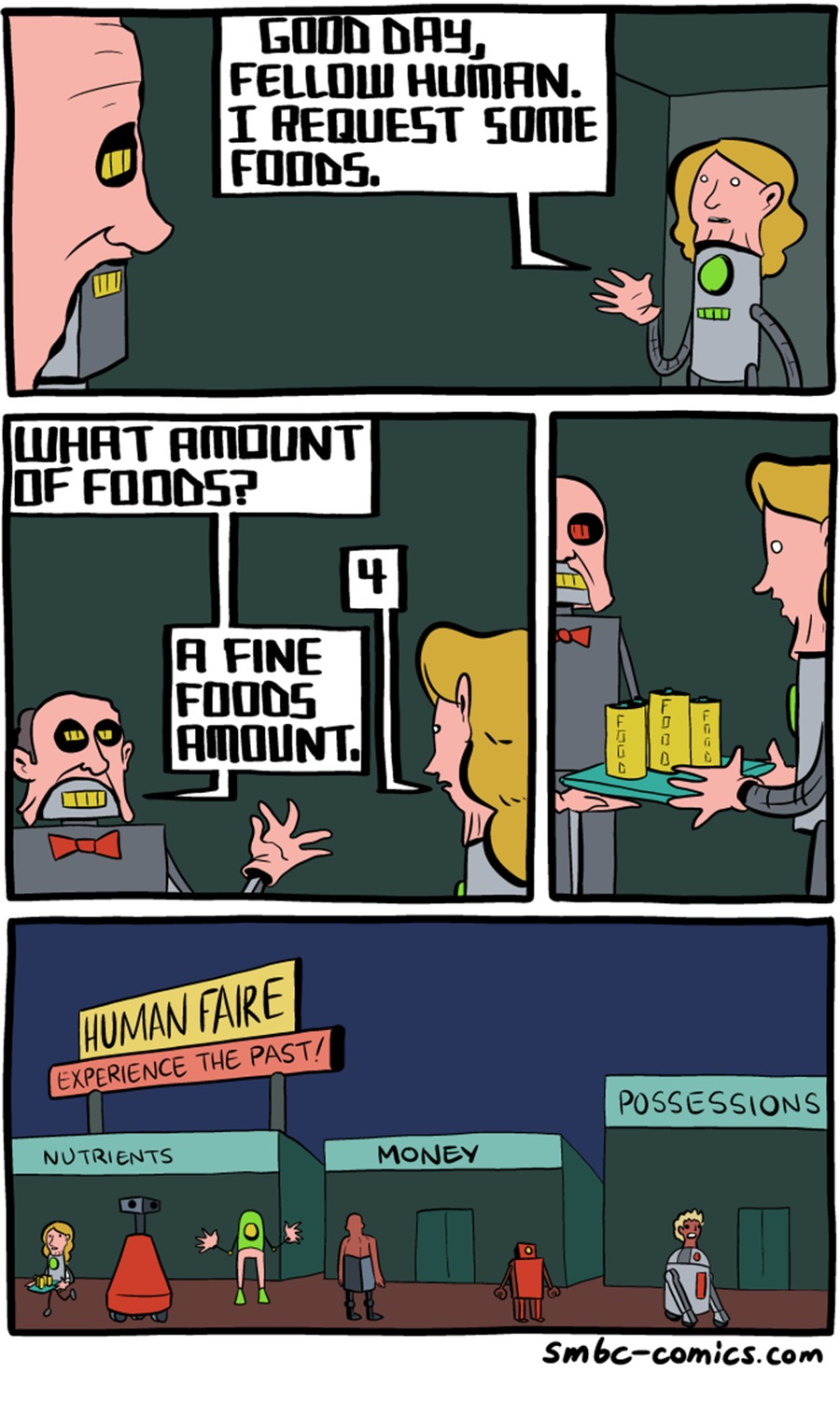 Saturday Morning Breakfast Cereal Comic Strip for June 19, 2016