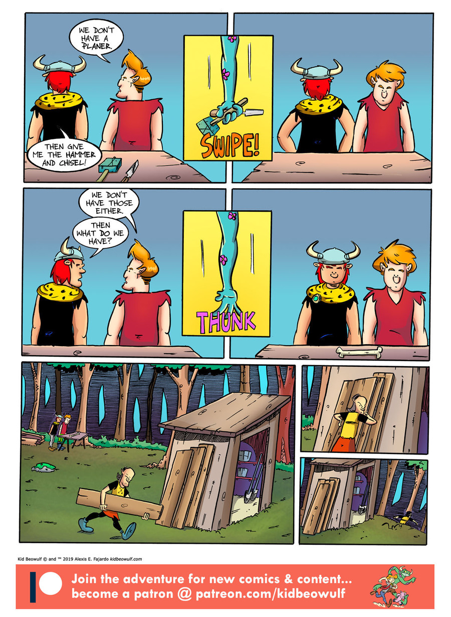 Kid Beowulf Comic Strip for June 12, 2019