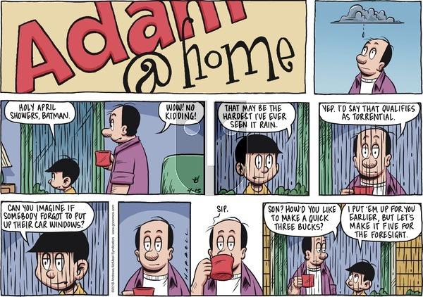 Adam@Home on Sunday April 15, 2018 Comic Strip
