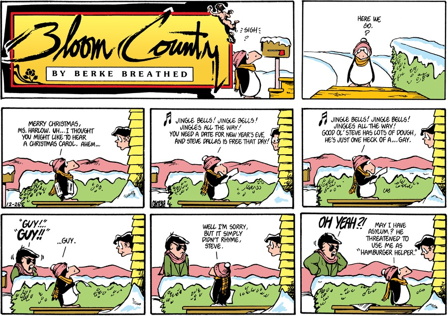 Bloom County Comic Strip for September 14, 2018