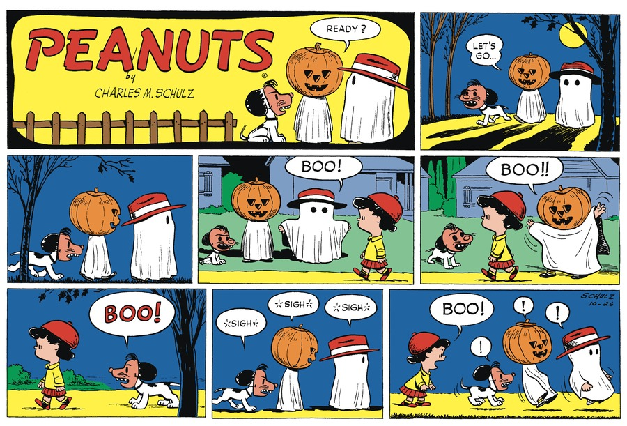 Peanuts Begins Comic Strip for October 24, 2020