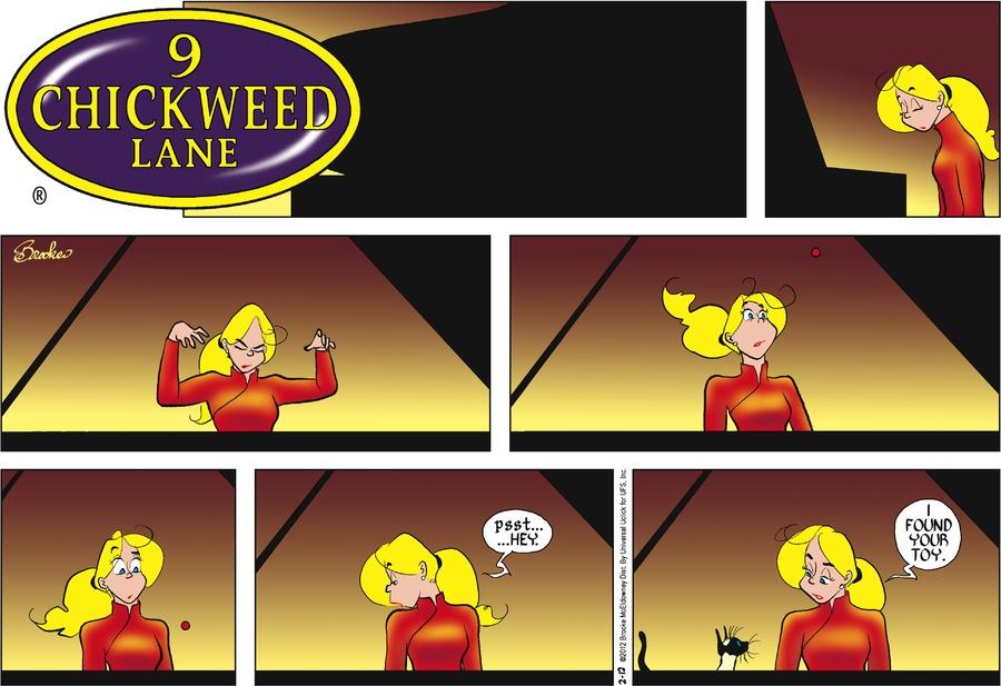 9 Chickweed Lane for Feb 12, 2012 Comic Strip