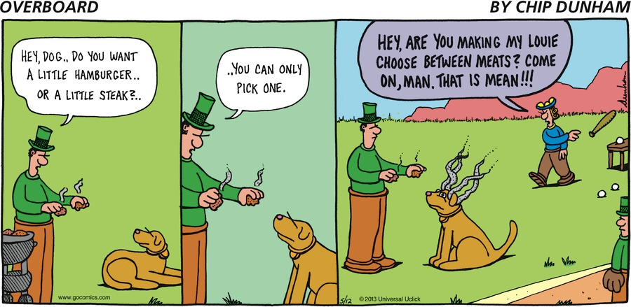 Overboard for May 12, 2013 Comic Strip