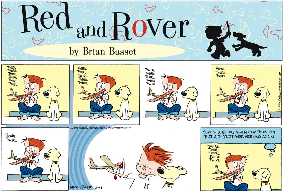 Red and Rover for Aug 13, 2000 Comic Strip