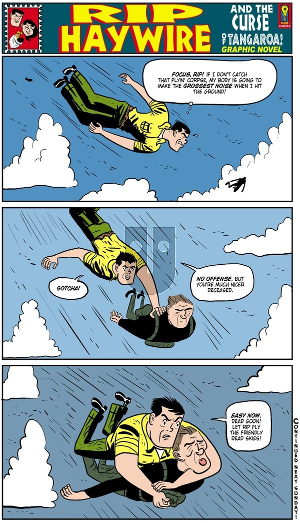Rip Haywire on Sunday May 18, 2014 Comic Strip