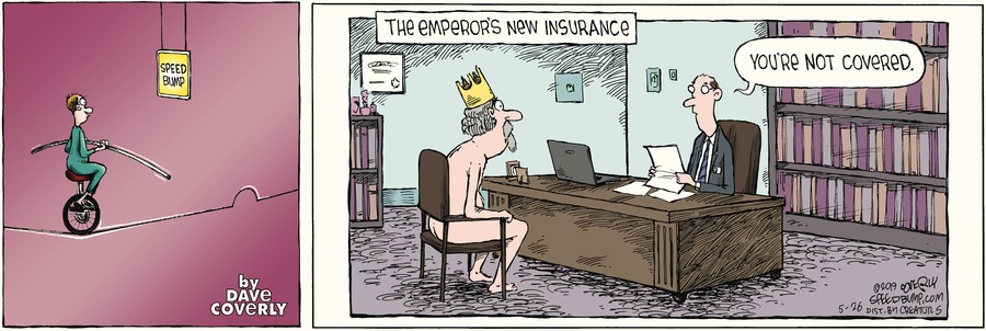 Speed Bump Comic Strip for May 26, 2019