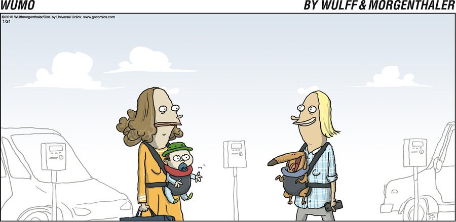 WuMo for Jan 31, 2016 Comic Strip