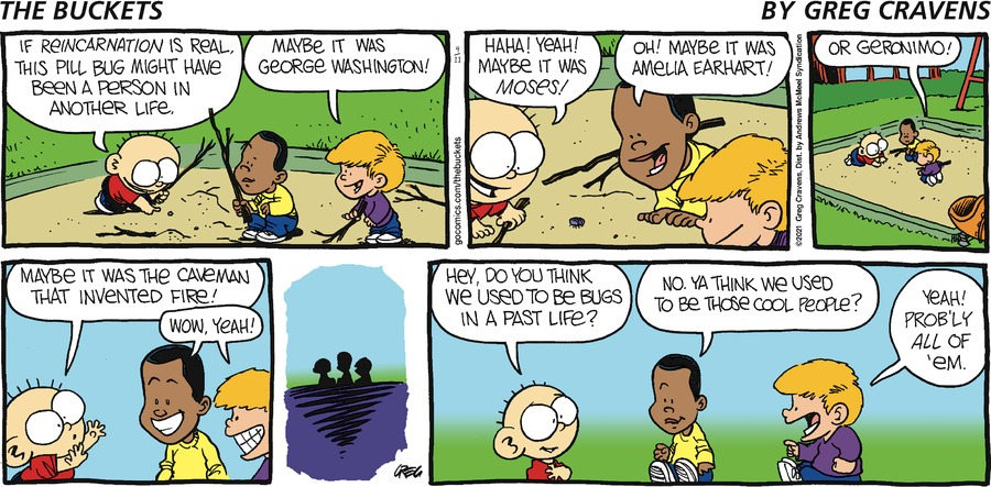 The Buckets Comic Strip for April 11, 2021