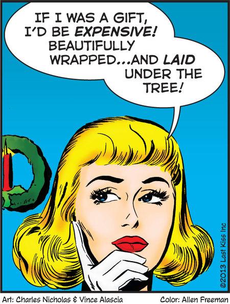 Last Kiss for Dec 20, 2013 Comic Strip
