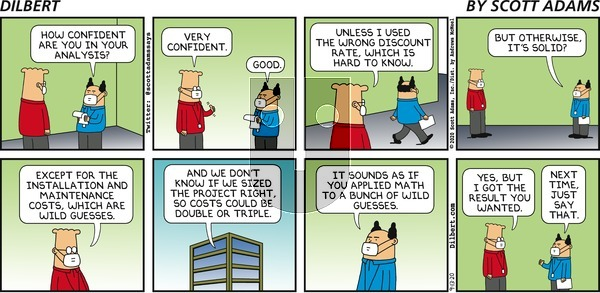 Dilbert on Sunday September 13, 2020 Comic Strip