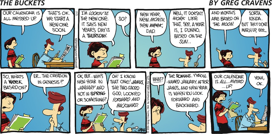 The Buckets Comic Strip for December 28, 2014