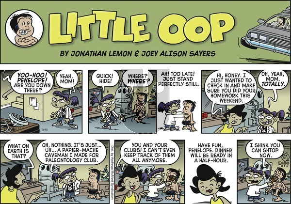 Alley Oop on Sunday March 15, 2020 Comic Strip