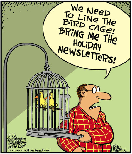 Free Range Comic Strip for December 23, 2015
