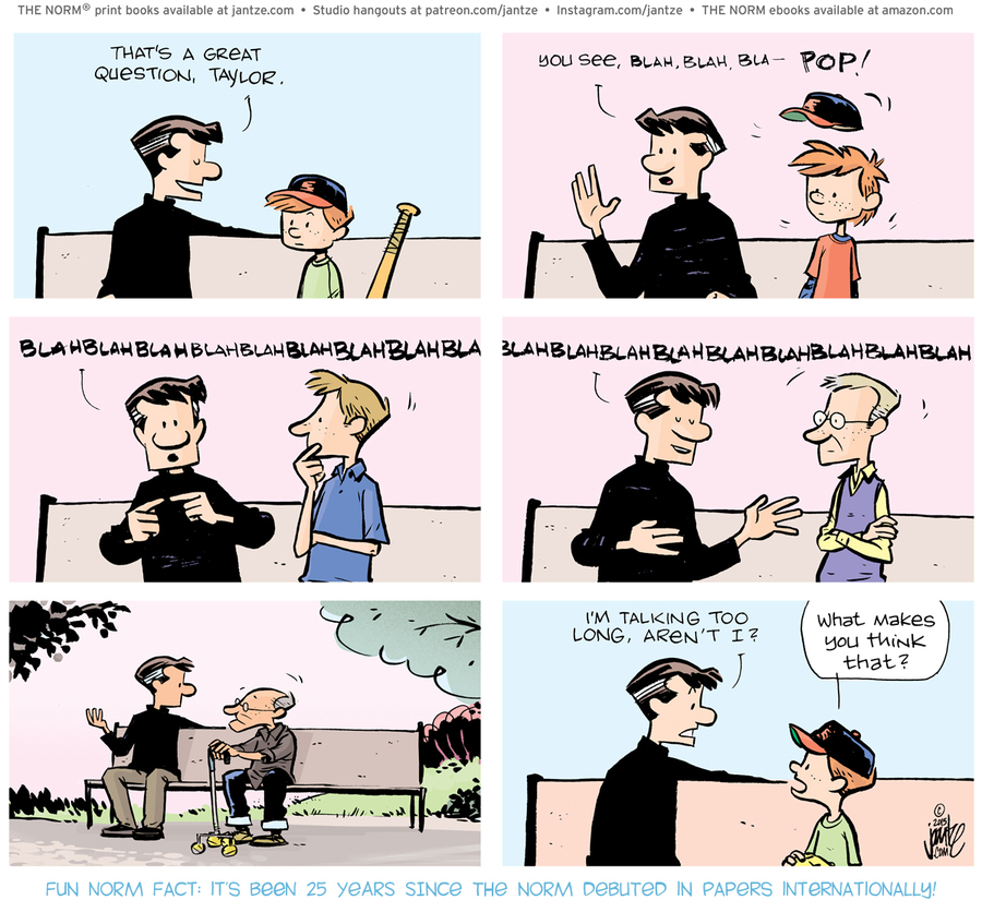 The Norm Classics Comic Strip for April 12, 2021