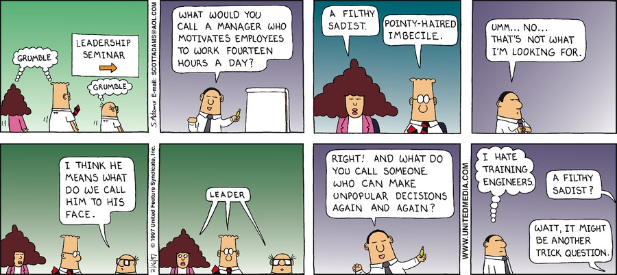 Dilbert Classics Comic Strip for January 17, 2021