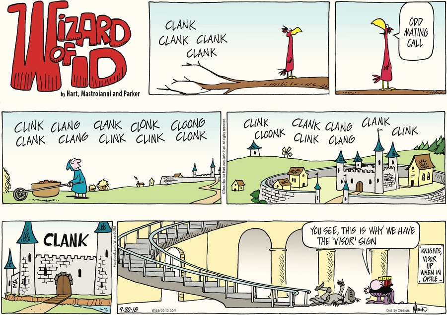 Wizard of Id Comic Strip for September 30, 2018
