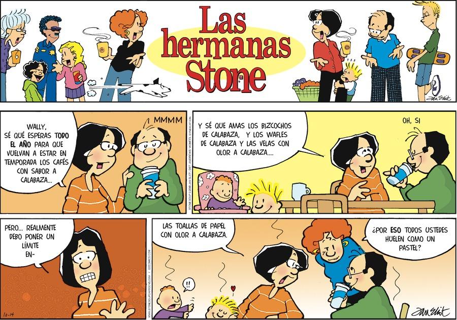 Las Hermanas Stone by Jan Eliot for October 14, 2018