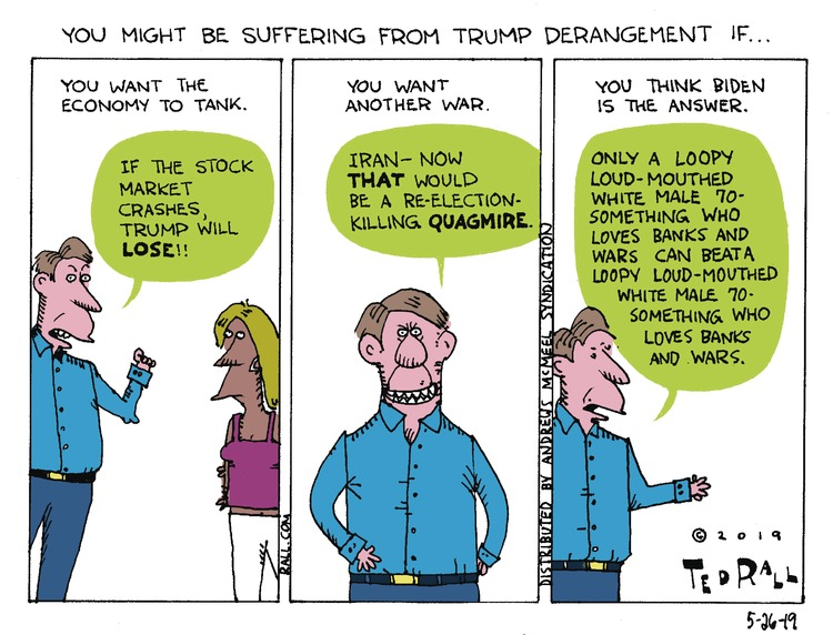 Ted Rall Comic Strip for May 26, 2019