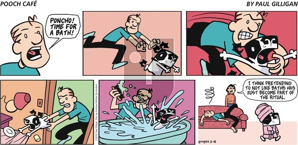 Pooch Cafe - Sunday March 18, 2018 Comic Strip