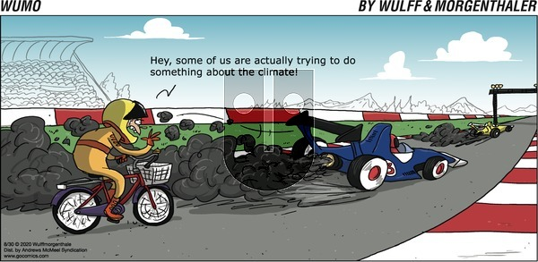 WuMo - Sunday August 30, 2020 Comic Strip