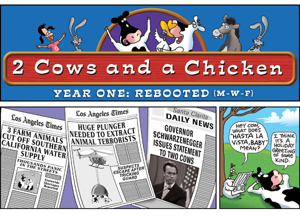 2 Cows and a Chicken for Mar 8, 2013 Comic Strip