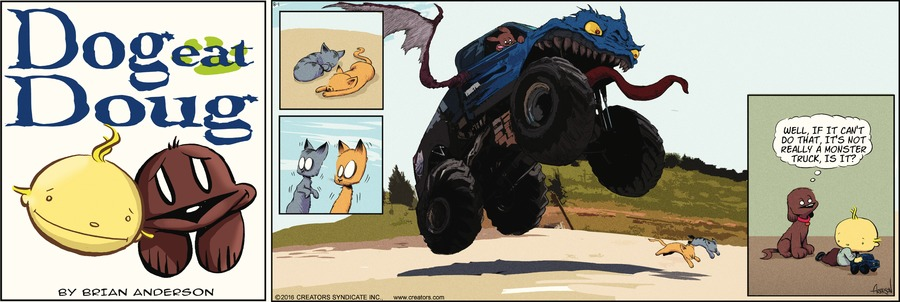 Dog Eat Doug Comic Strip for August 01, 2021