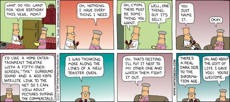 Dilbert Classics Comic Strip for December 27, 2020