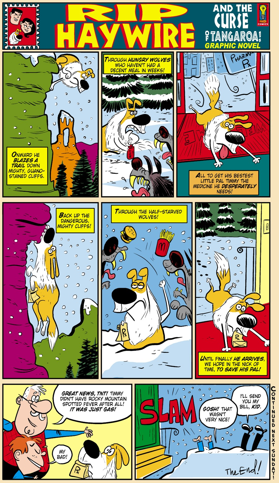 Rip Haywire Comic Strip for July 13, 2014