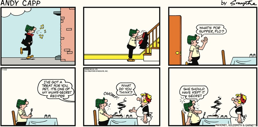Andy Capp Comic Strip for November 22, 2020