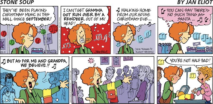 Stone Soup Comic Strip for December 11, 2016