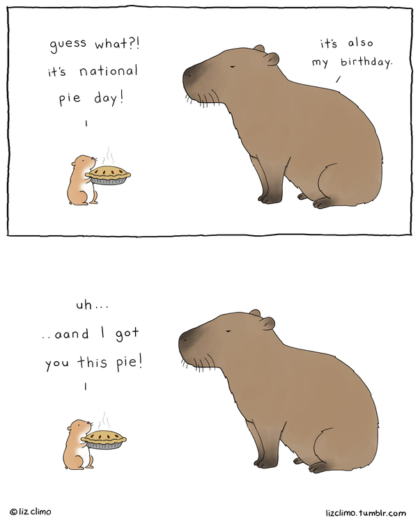 Liz Climo Cartoons Comic Strip for February 18, 2021