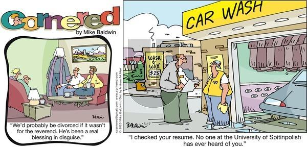 Cornered - Sunday May 17, 2020 Comic Strip
