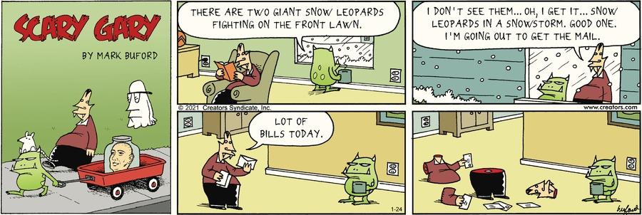 Scary Gary Comic Strip for January 24, 2021