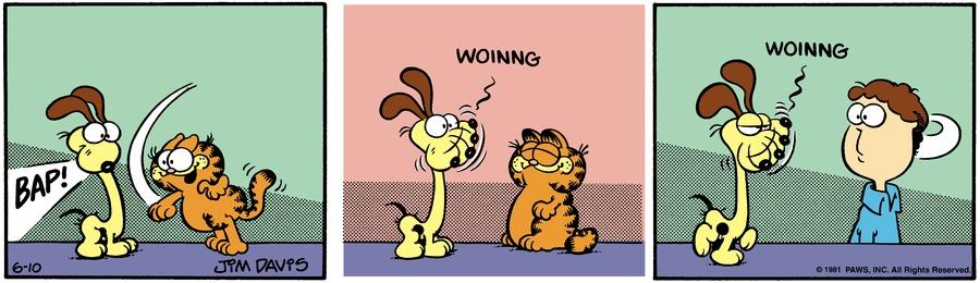 Garfield Classics by Jim Davis for June 16, 2019