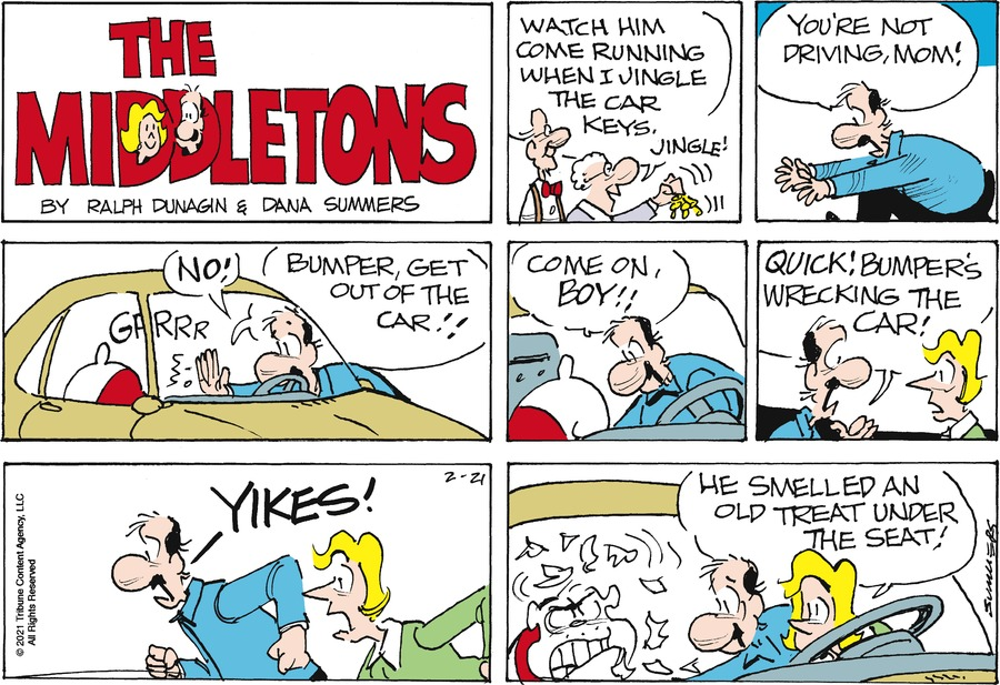 The Middletons Comic Strip for February 21, 2021