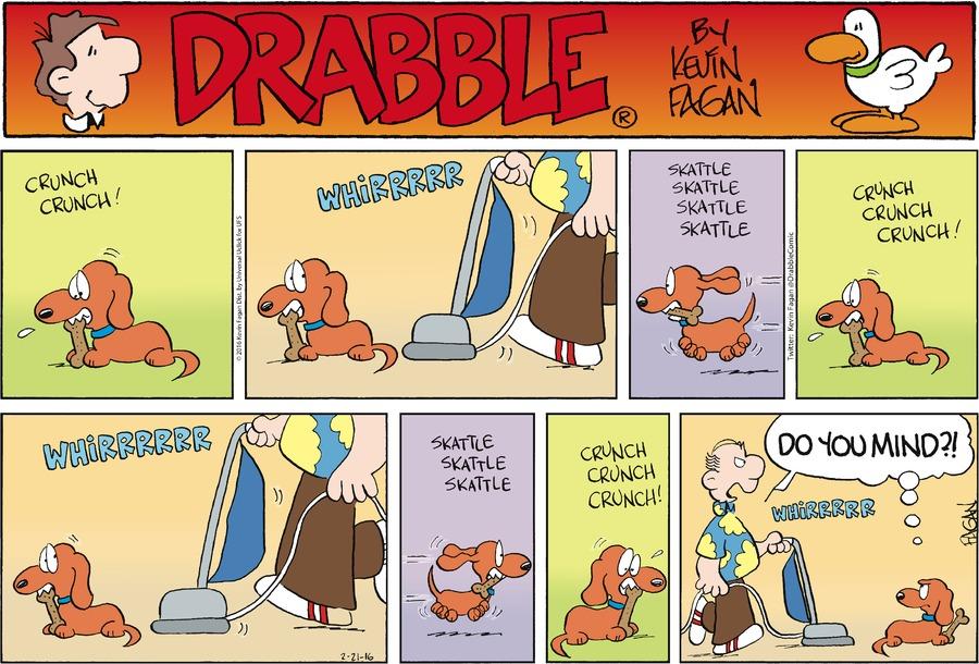 Drabble for Feb 21, 2016 Comic Strip