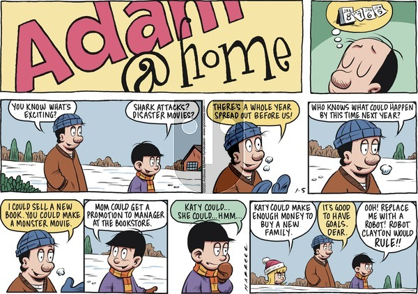 Adam@Home on Sunday January 5, 2020 Comic Strip