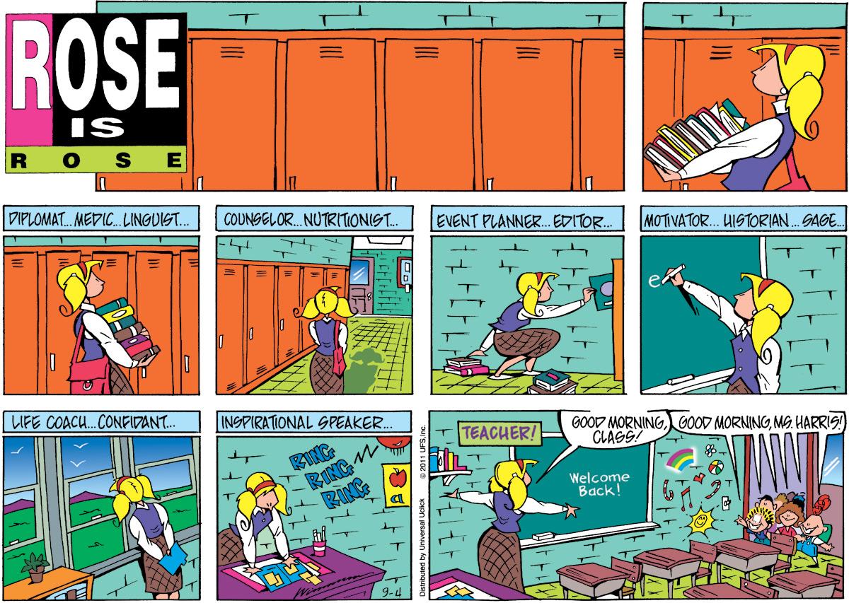 Rose is Rose Comic Strip for September 04, 2011