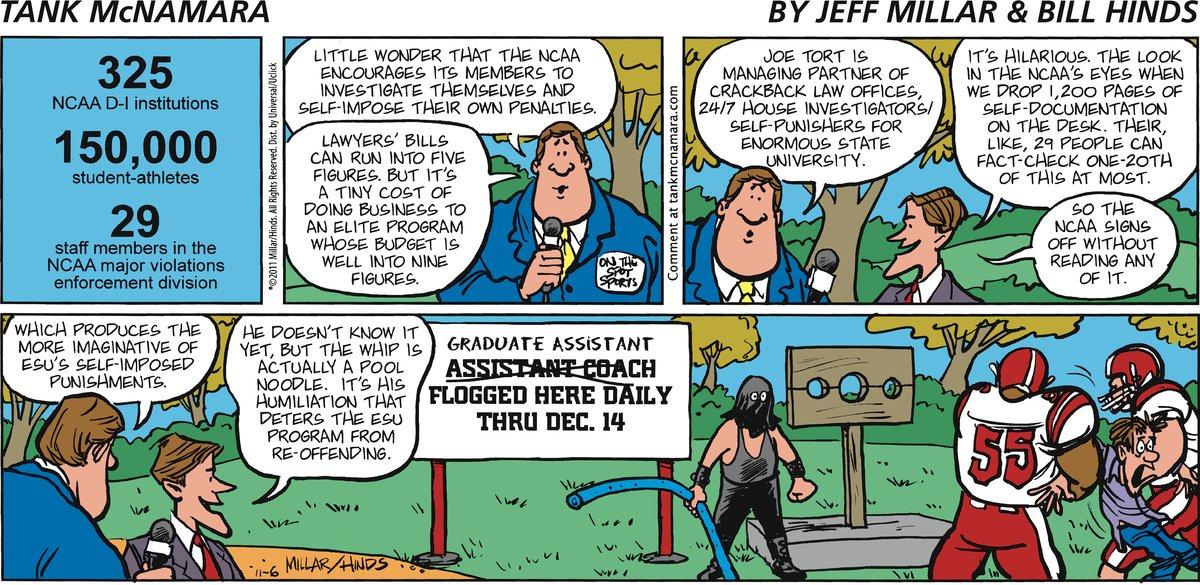 Tank McNamara for Nov 6, 2011 Comic Strip