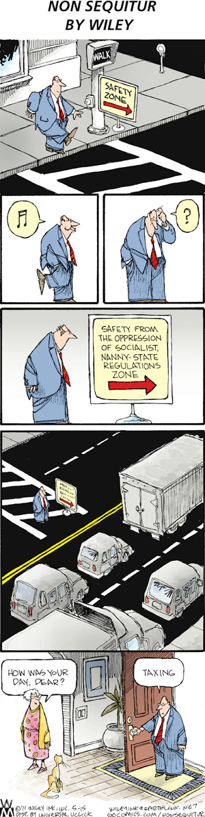 Non Sequitur Comic Strip for May 15, 2011